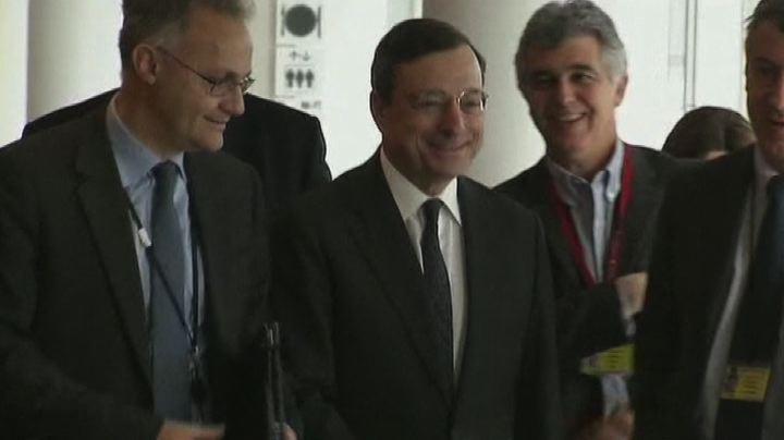 Draghi lancia l'allarme: ripresa di Eurolandia sta ...