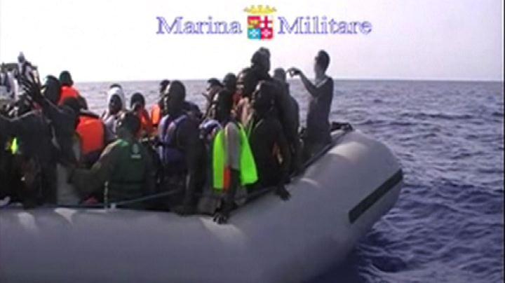 Mare Nostrum, 590 persone recuperate dalla Marina militare  ...