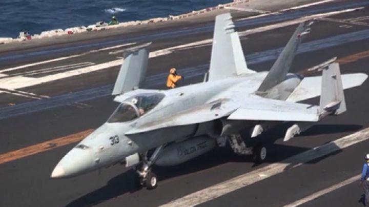 Al via l'offensiva aerea contro l'Isis in Siria, primi raid ...