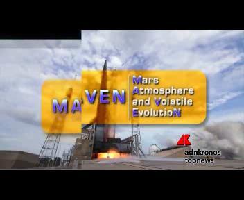 La sonda Maven nell'atmosfera di Marte