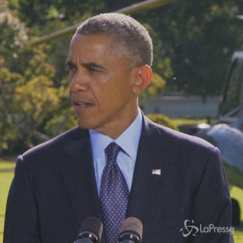 Siria, Obama: Non permetteremo all'Isil di trovare riparo   ...
