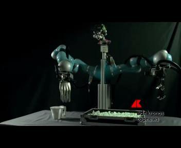 Boris, robot che impugna le stoviglie di casa