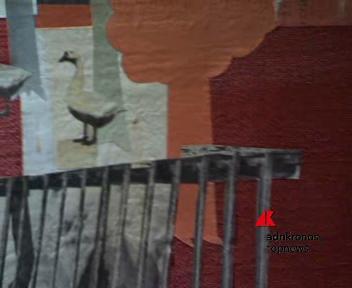 Il Dada in collage di Bancheri a via Margutta