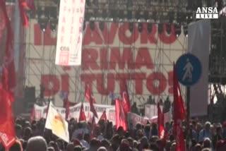 Cgil 'minaccia' sciopero generale