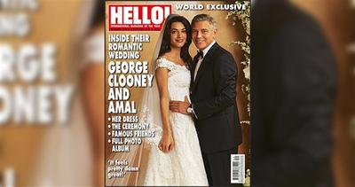 Gli splendidi abiti di George Clooney e Amal Alamuddin
