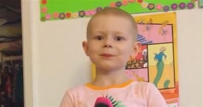 Hannah, 5 anni: non abbiate paura del cancro