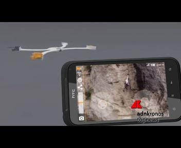 Arriva il drone-orologio