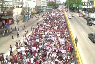 Messico: polizia reprime protesta