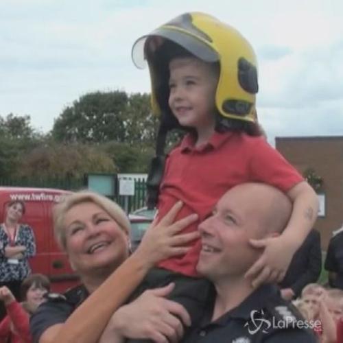 E' il più giovane eroe del Regno Unito: a 4 anni salva ...