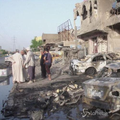 Serie di attacchi intorno a Baghdad: 47 persone uccise