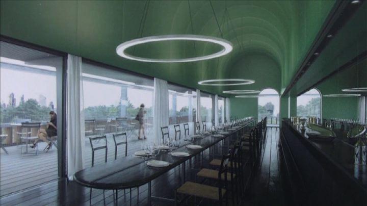 Un ristorante sulla Triennale, sospeso tra verde e ...