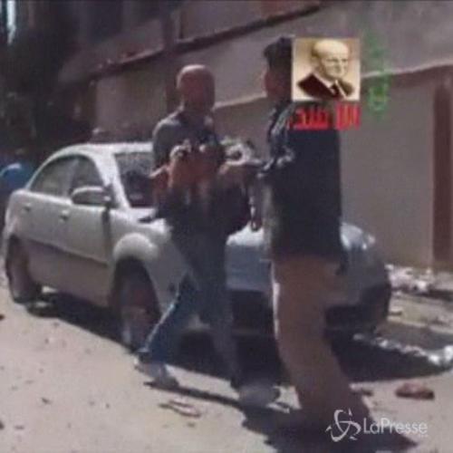 Siria, le immagini shock delle esplosioni nella scuola di ...