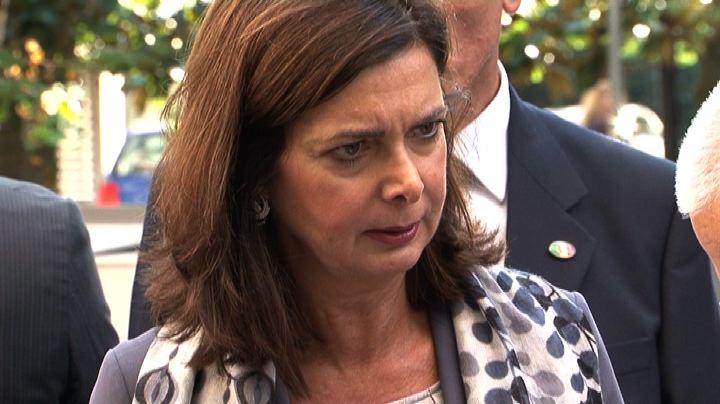 Boldrini: giusto che le istituzioni siano presenti a Lampedusa