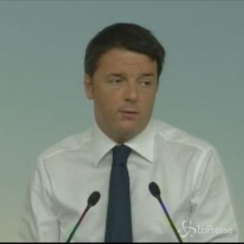 Renzi: Altro che slogan, da Governo rara intensità di riforme