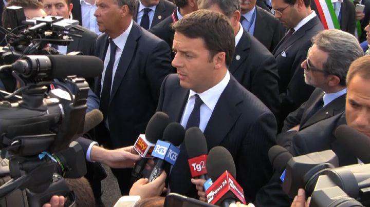 Renzi: Genova vicenda molto grave, sbloccare le opere pubbliche