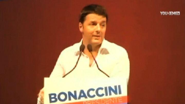 Renzi: abbiamo avuto un impegno solenne da Europa su immigrati