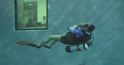 La piscina più profonda del mondo è in Italia
