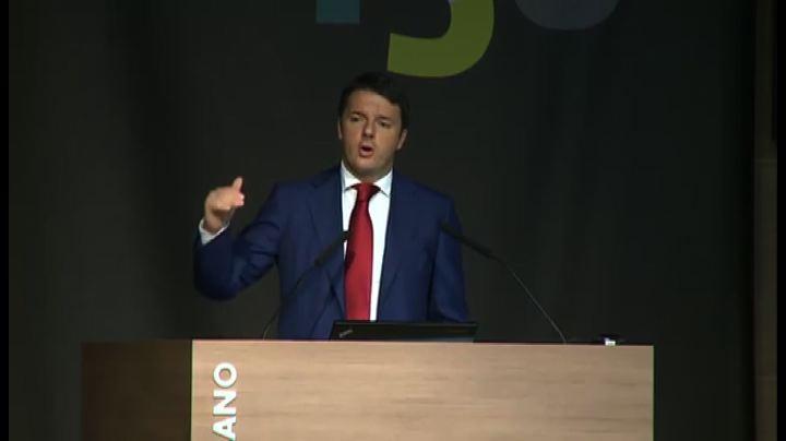 Renzi: chi resta fermo alla nostalgia non va da nessuna parte