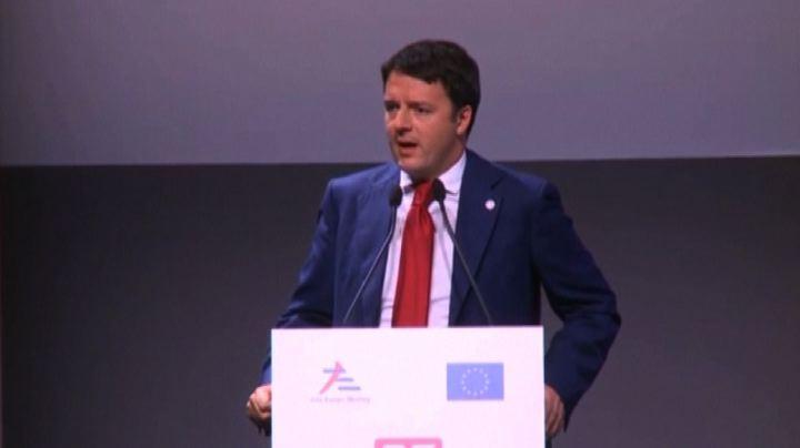 Renzi: da crisi si esce tutti insieme o non ci saranno vincitori