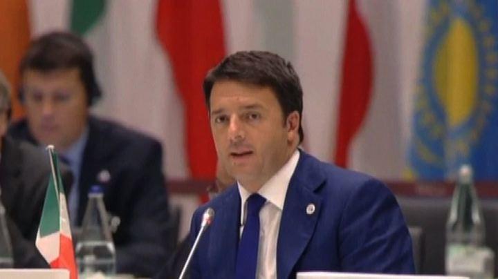 Ebola, Renzi: importante fare la nostra parte e cooperare