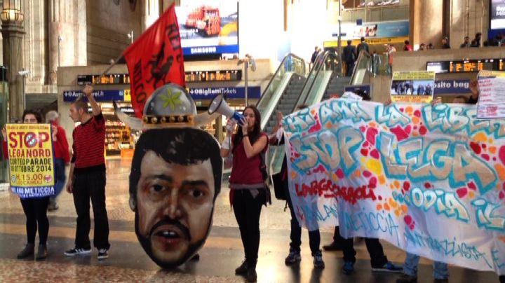 Sabato a Milano corteo antirazzista contro manifestazione ...