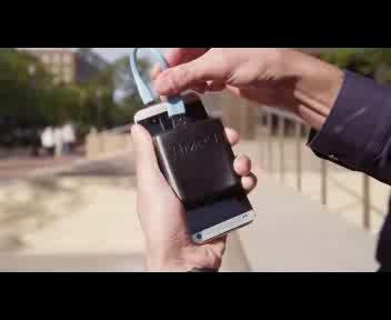 Correndo dimagrisci e ricarichi il tuo smartphone