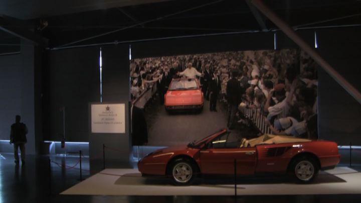 Imola omaggia Wojtyla, in mostra anche la Ferrari usata dal ...