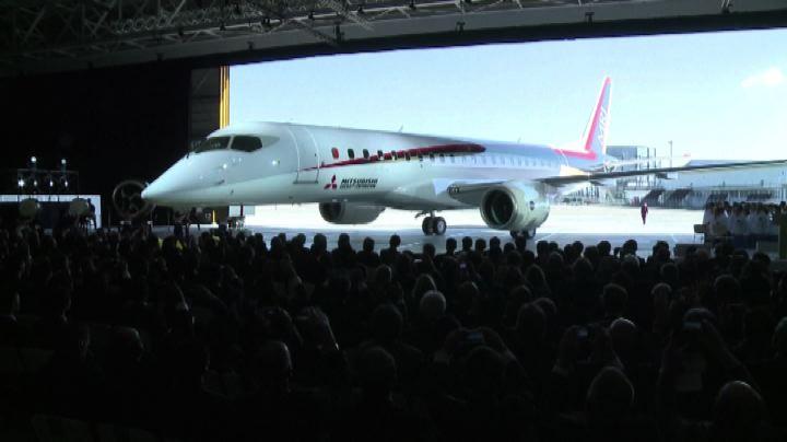 Il primo aereo di linea costruito in Giappone dopo 40 anni  ...