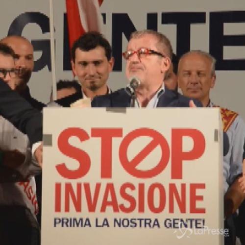 In migliaia a Milano per corteo Lega contro immigrazione ...