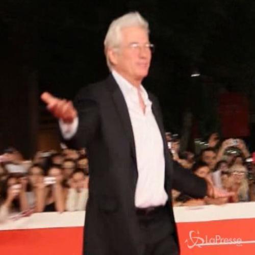 Roma Film Fest, Richard Gere il più applaudito sul red ...