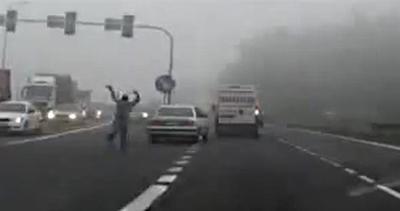 La giornata no di un automobilista