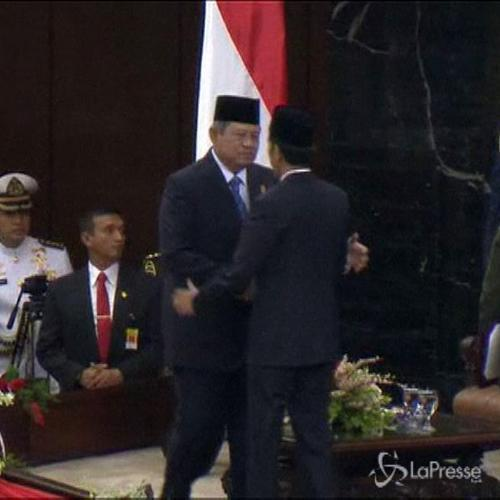 Widodo giura come presidente Indonesia: in discorso parla a ...