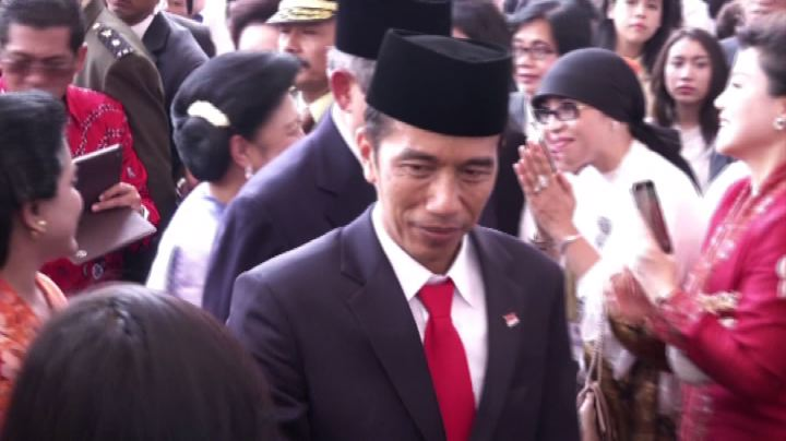 Joko Widodo insediato come nuovo presidente dell'Indonesia  ...