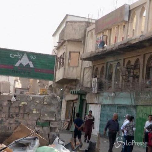 Attentato suicida in moschea sciita a Baghdad: 17 morti     ...