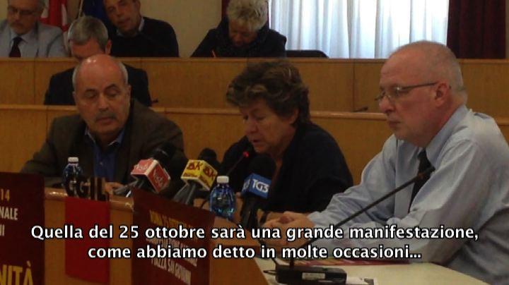 Camusso: 25 ottobre grande manifestazione, no a riduzione ...