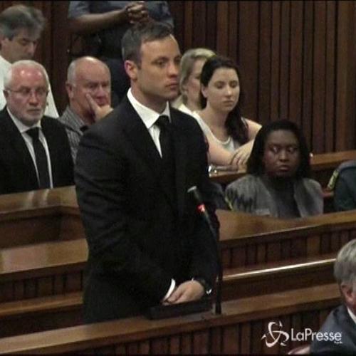 Pistorius condannato a 5 anni di carcere per l'omicidio ...