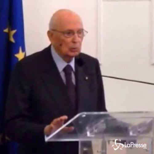 Napolitano : Troppi leader politici senza cultura ...
