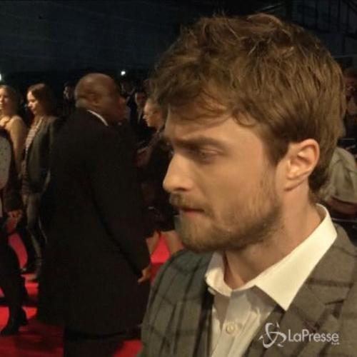 Daniel Radcliffe a premiere londinese del film horror ...