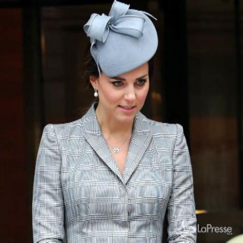 Prima uscita ufficiale di Kate Middleton dopo annuncio ...
