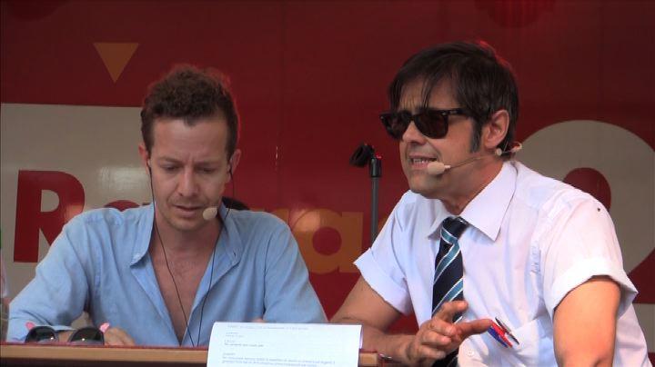 Lillo e Greg dal set al festival di Roma con Radio 2 e una ...