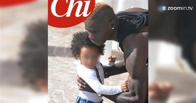 La trasformazione di Balotelli in papà premuroso