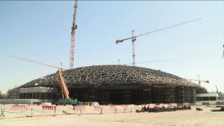 Il Louvre a Abu Dhabi, posata la cupola della 'succursale'  ...