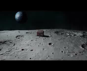 Una casa sulla Luna, si cercano fondi