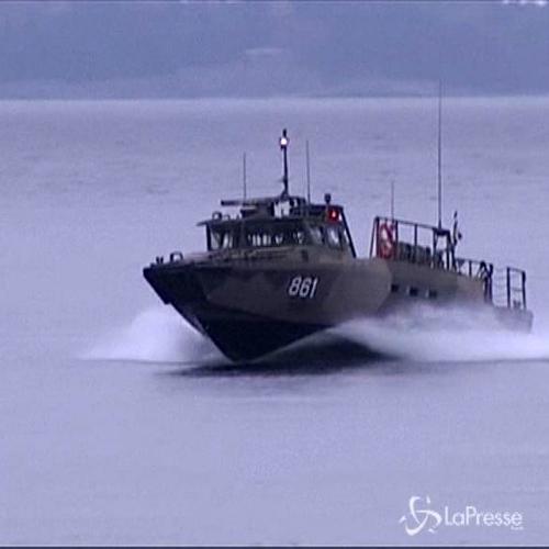 Tornano in porto navi svedesi a caccia del sottomarino