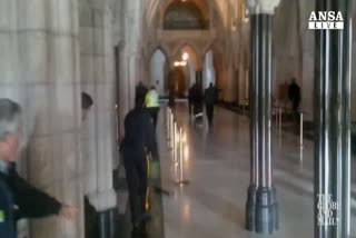 Canada, sparatoria dentro Parlamento