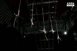 Un' italiana canta Quidam per Le Cirque du Soleil
