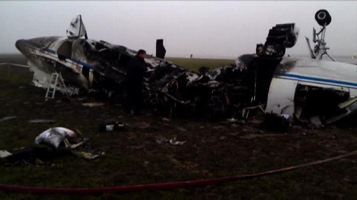 Mosca, 4 arresti per l'incidente aereo dell'Ad Total de ...