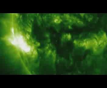 'Mostruosa' eruzione solare di classe X