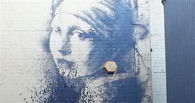 Un altro Banksy deturpato, crisi per l'artista urbano?
