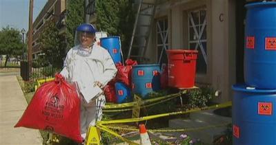 Texas, umorismo nero sull'Ebola per Halloween